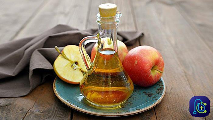 درمان سریع شقاق با سرکه سیب