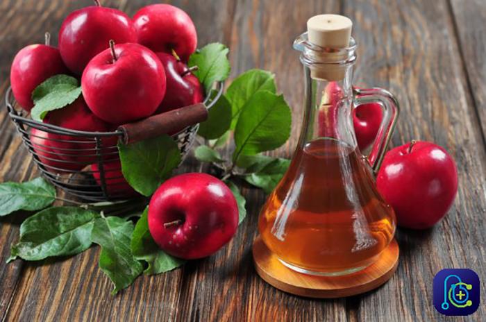 درمان خانگی کیست مویی با سرکه سیب